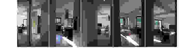 Maison C Couloir, entrée, escaliers modernes par SARA Architecture Moderne