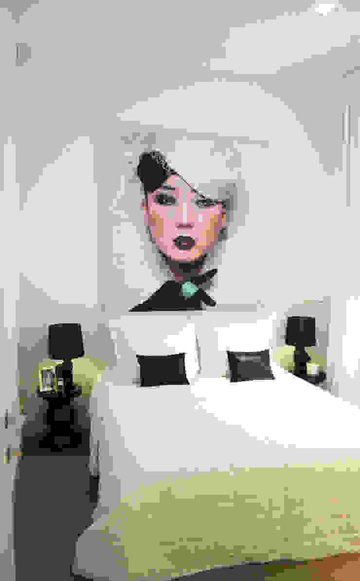 Model appartement Antwerpen, België Moderne slaapkamers van By Lenny Modern