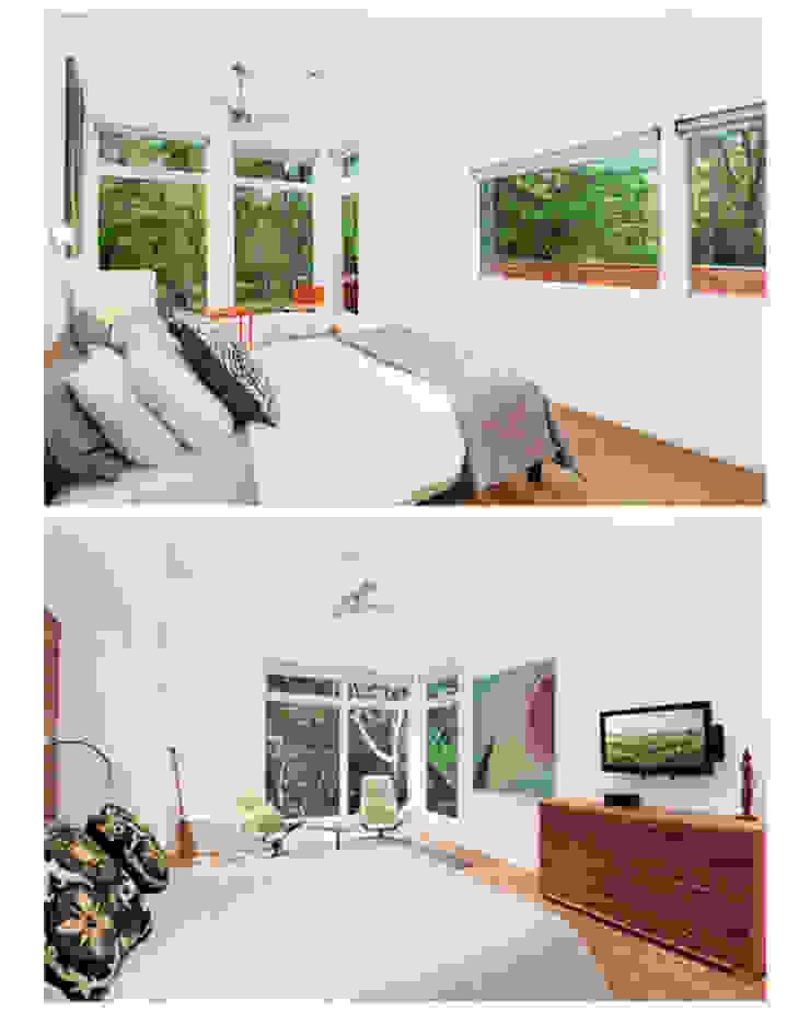 Modern Beach House, New York Modern style bedroom by Eisner Design Modern
