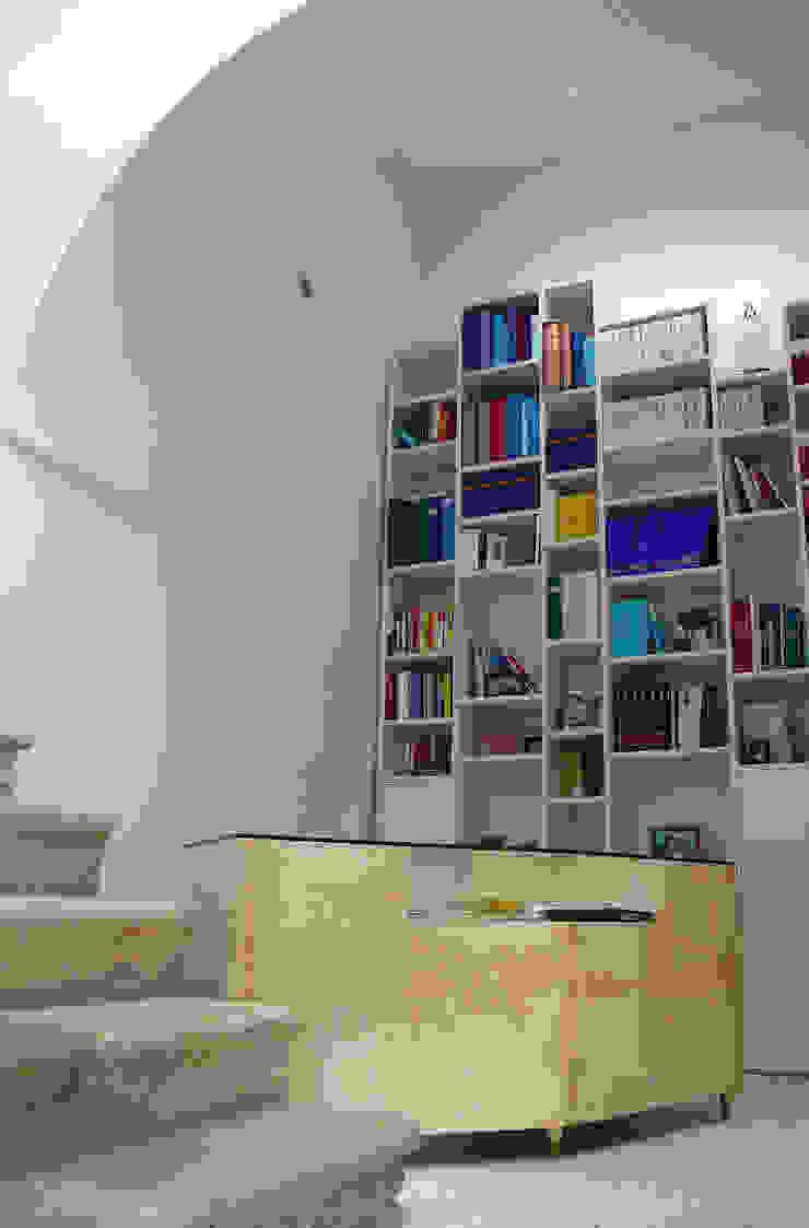raffaele iandolo architetto 書房/辦公室食具櫃