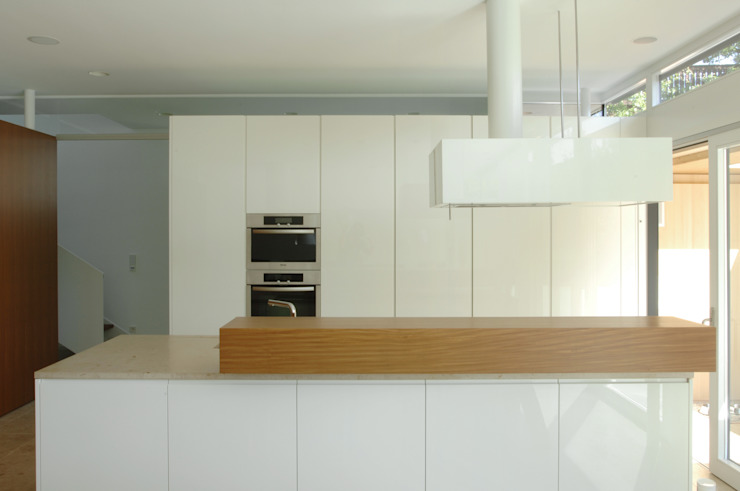 Früh Architekturbüro ZT GmbH Nhà bếp phong cách hiện đại