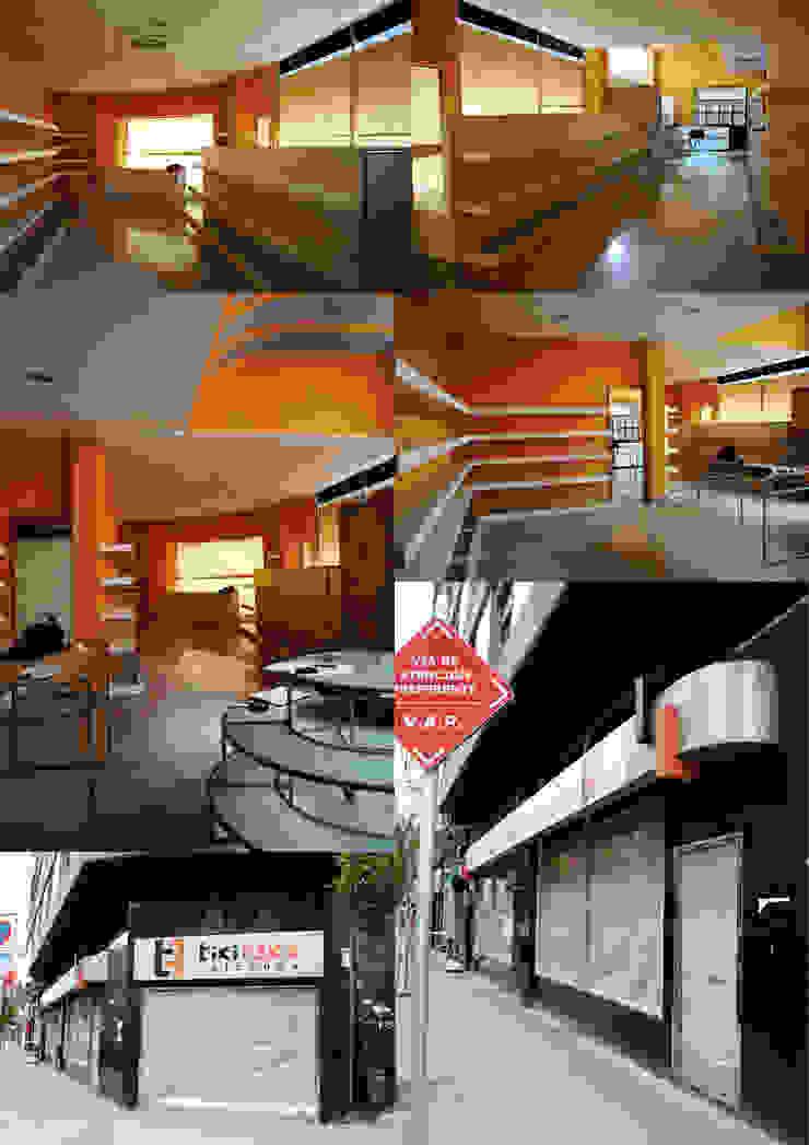 Estado previo Oficinas y tiendas de estilo moderno de interior03 Moderno