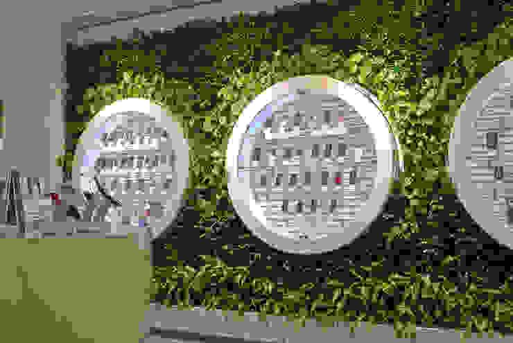 Фитостены в салоне мобильной связи: Озеленение  в . Автор – RaStenia,