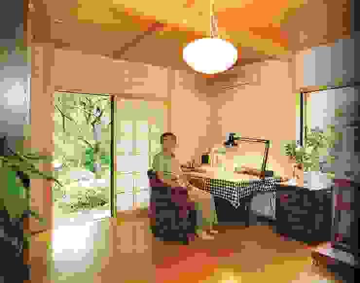 by 株式会社 山本富士雄設計事務所 Classic Wood Wood effect