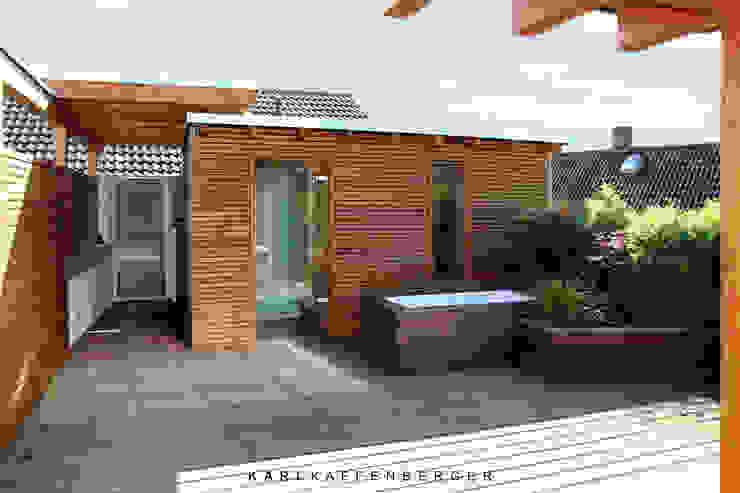 Dachterrasse - Nachher Skandinavischer Balkon, Veranda & Terrasse von Karl Kaffenberger Architektur | Einrichtung Skandinavisch