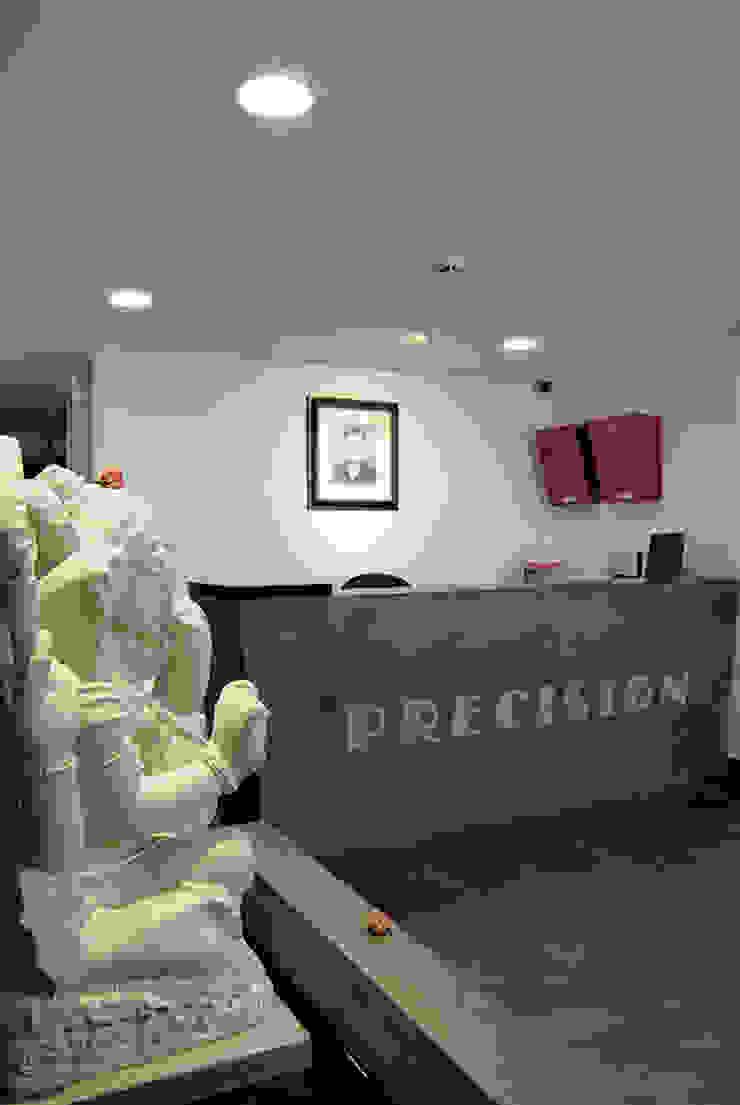Precision corporate office by The Orange Lane Modern