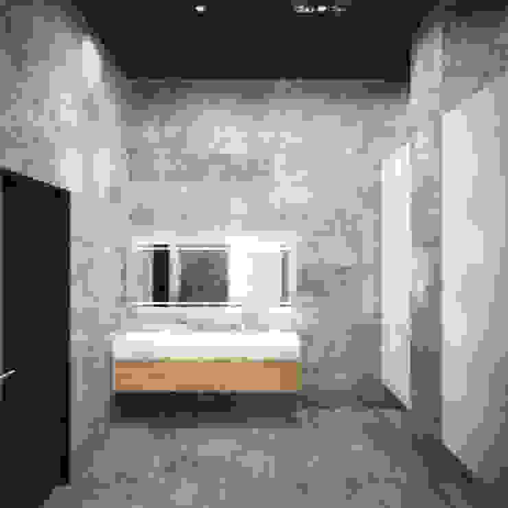 Industrial style bathroom by Блаудерман Бюро Industrial