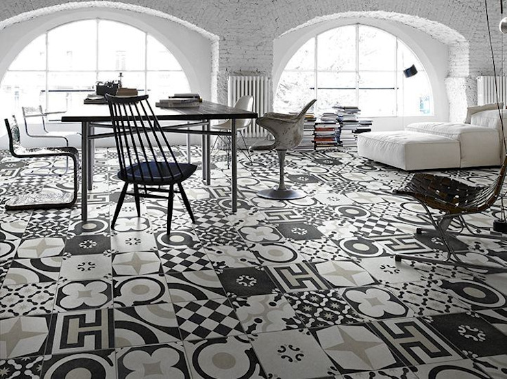 Living room by Ceramiche Addeo, Modern