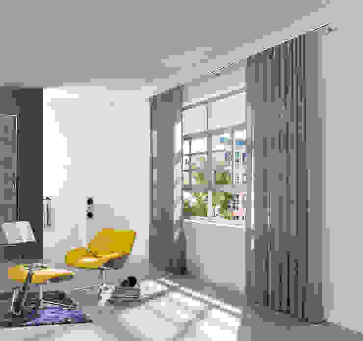 """Wellenvorhang """"W3"""": modern  von interstil Vorhanggarnituren,Modern"""