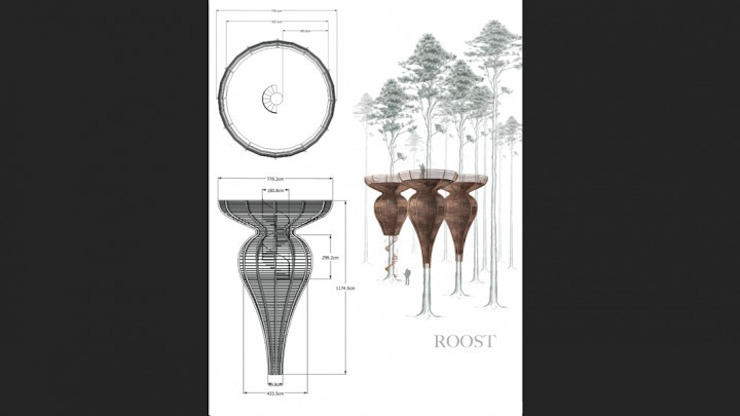 Roost Tree House Country style houses by antonygibbondesigns Country
