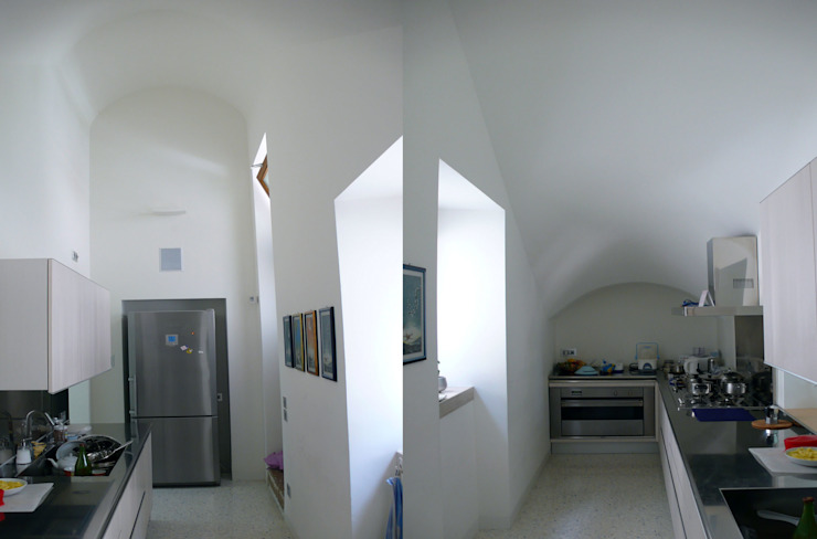 Casa Apice Bellini raffaele iandolo architetto Cucina moderna