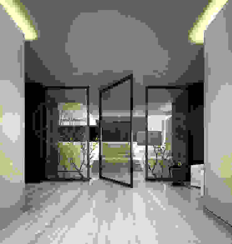 Фасад особняка Bowmont Residence, LA, USA от Марина Анисович, студия NEUMARK