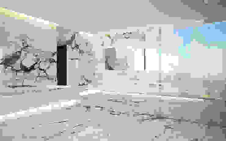 Интерьеры особняка Bowmont Residence, LA, USA Спа в эклектичном стиле от Марина Анисович, студия NEUMARK Эклектичный