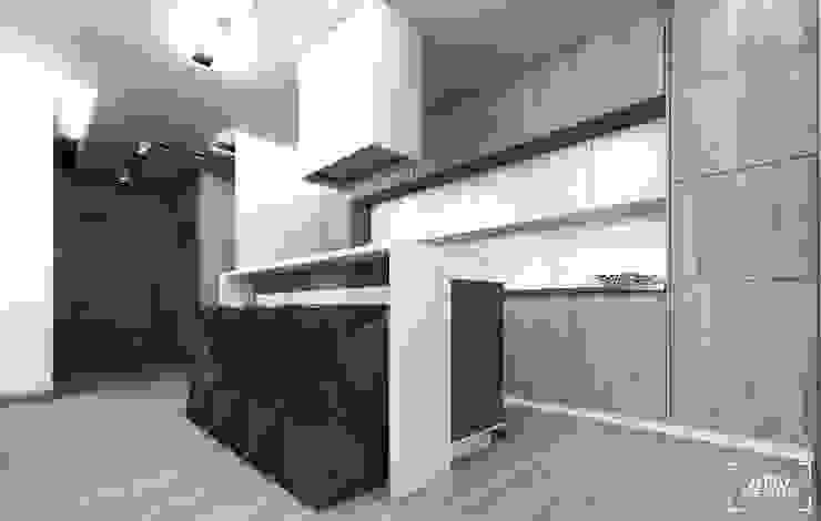 Nhà bếp phong cách tối giản bởi ADV Design Tối giản