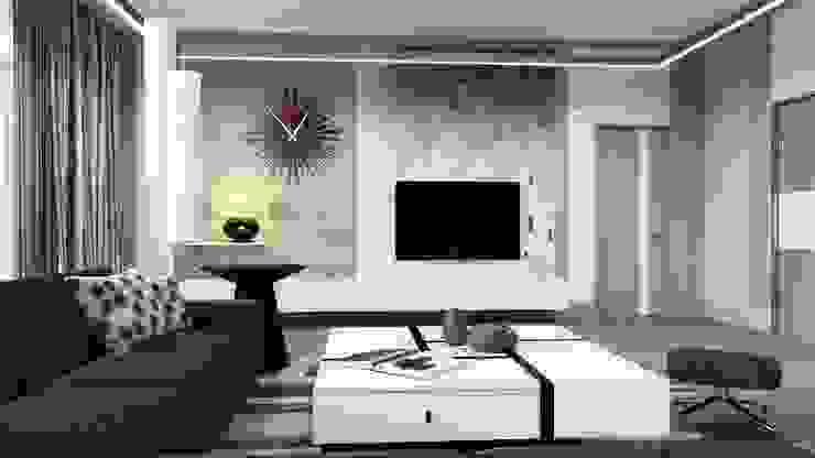 Студия Искандарова Salas de estar modernas