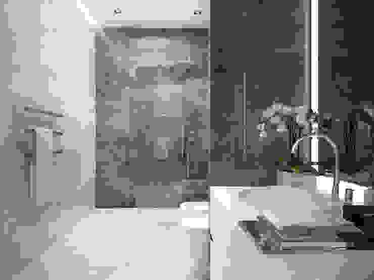 Интерьеры особняка Bowmont Residence, LA, USA Ванная комната в эклектичном стиле от Марина Анисович, студия NEUMARK Эклектичный