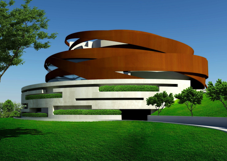 House Bok Modern houses by Nico Van Der Meulen Architects Modern