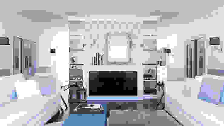 Phòng khách phong cách kinh điển bởi ADV Design Kinh điển