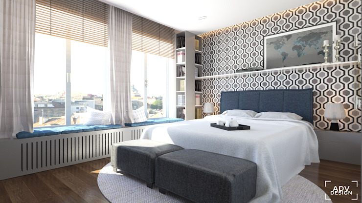Bedroom by ADV Design, Classic