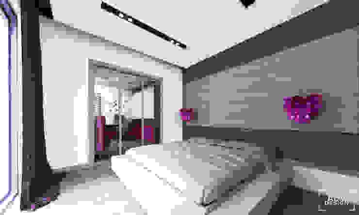 Phòng ngủ phong cách tối giản bởi ADV Design Tối giản