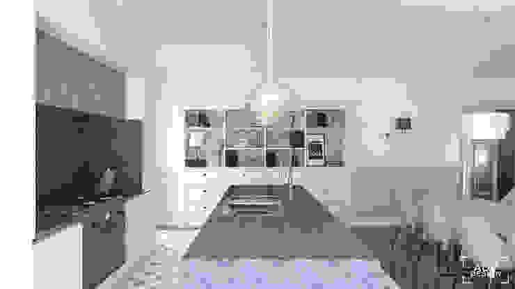 Część dzienna - kuchnia Klasyczna kuchnia od ADV Design Klasyczny