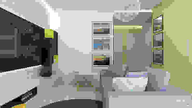 Część dzienna - salon Skandynawski salon od ADV Design Skandynawski