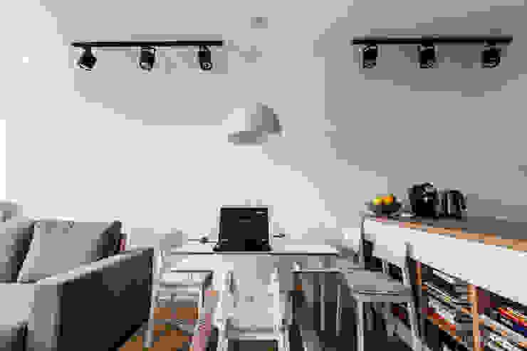 I_004 Skandynawski salon od SNCE Studio Skandynawski