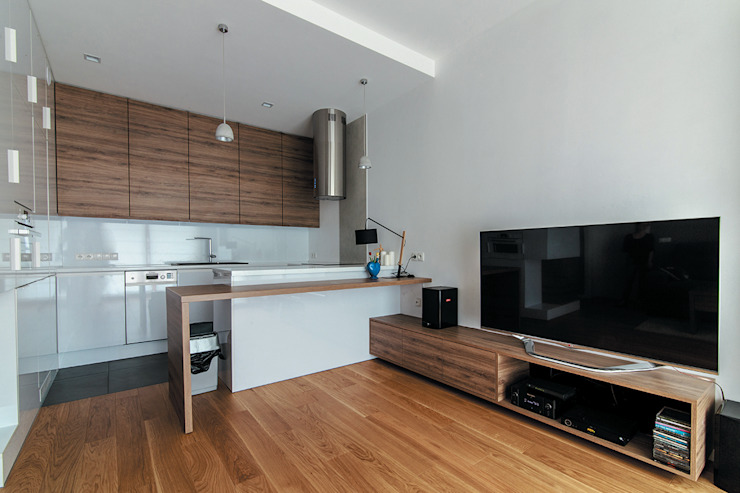 SNCE Studio Minimalist kitchen
