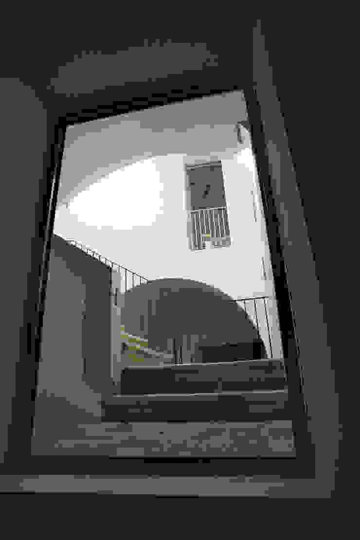 Casa Apice Bellini raffaele iandolo architetto Ingresso, Corridoio & ScaleIlluminazione