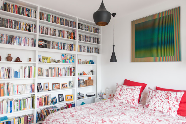Small bedroom by Lise Compain, Modern