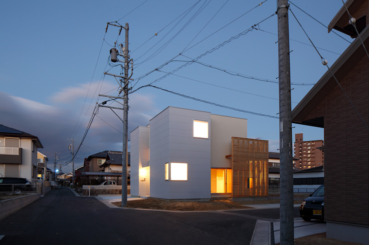 โดย アトリエ ヴォイド・セット一級建築士事務所 โมเดิร์น