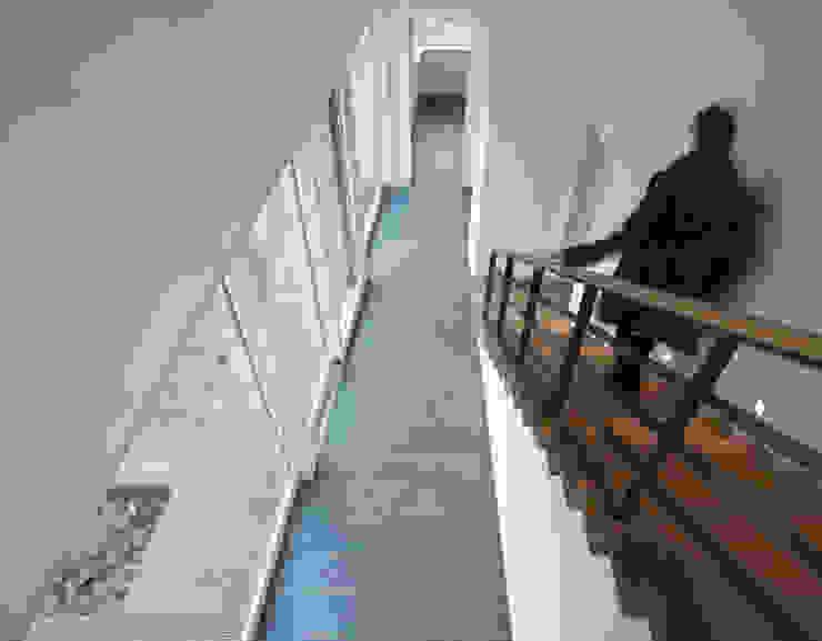 Modern corridor, hallway & stairs by (pfitzner moorkens) architekten PartGmbB Modern