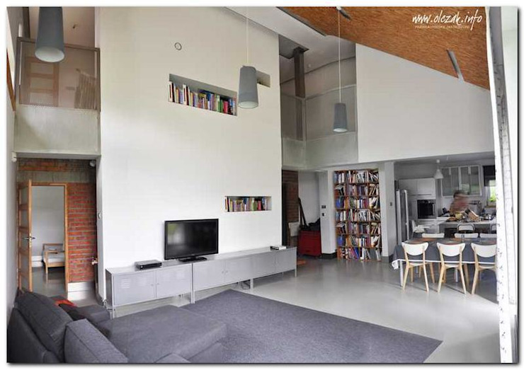 modern  oleh OPS Architekt Maciej Olczak, Modern