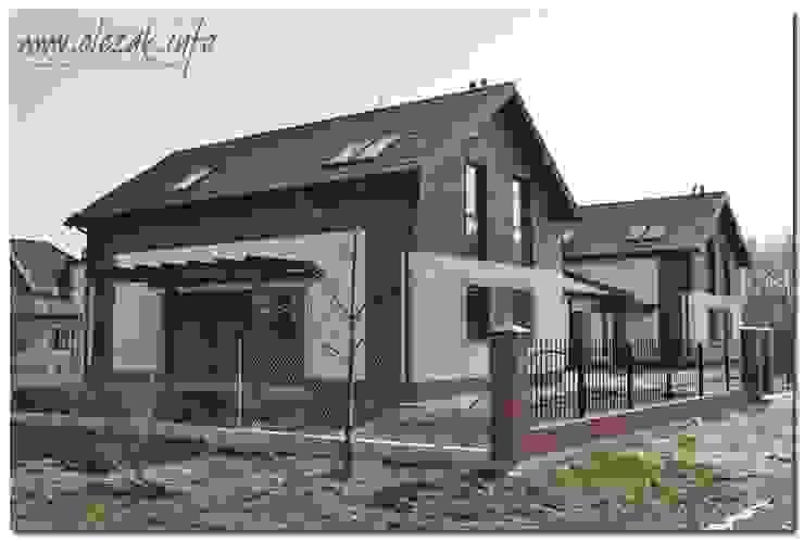 dom dwulokalowy od OPS Architekt Maciej Olczak Klasyczny