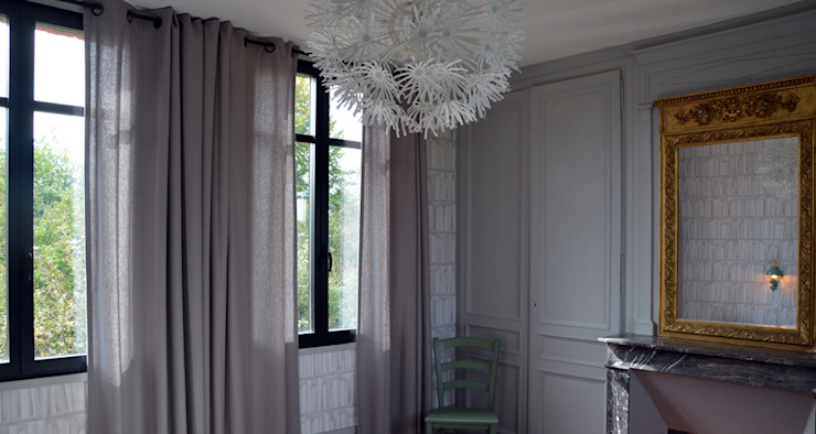 Klassische Schlafzimmer von AGENCE APOLLINE TERRIER Klassisch