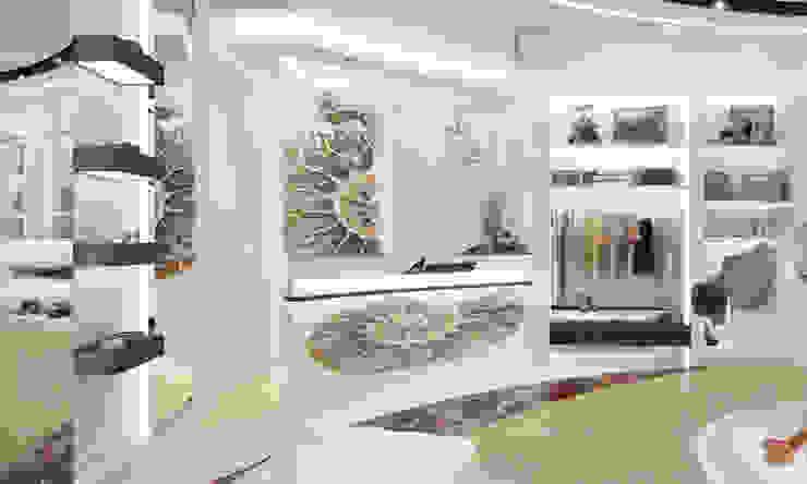 Общественные помещения Офисы и магазины в стиле минимализм от Студия Ксении Седой Минимализм