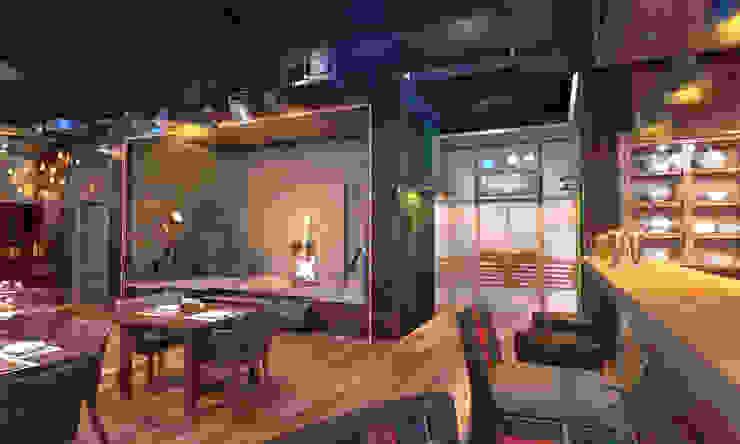Общественные помещения Бары и клубы в стиле лофт от Студия Ксении Седой Лофт