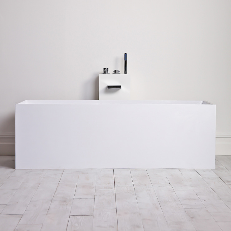 Lusso Stone Ethos Stone Resin Solid Surface Freestanding Bath 1700: modern  by Lusso Stone, Modern