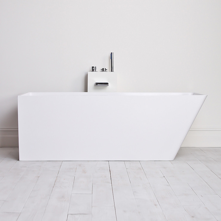 Lusso Stone vado Stone Resin Solid Surface Freestanding Bath 1700: minimalist  by Lusso Stone, Minimalist