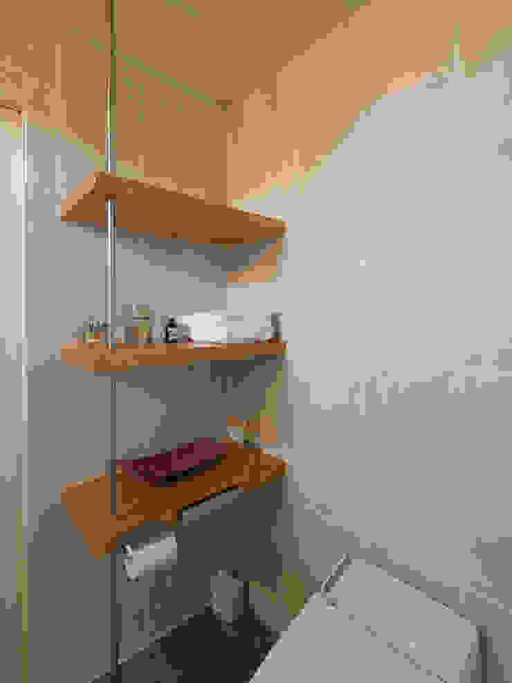 バスルーム オリジナルスタイルの お風呂 の Far East Design Labo オリジナル