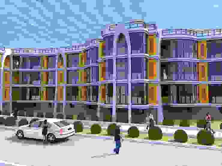 Трех этажный 60 квартирный жилой дом от Проектная группа «Портал»