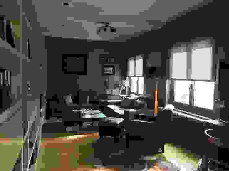 ANA EMO INTERIORISMO 现代客厅設計點子、靈感 & 圖片