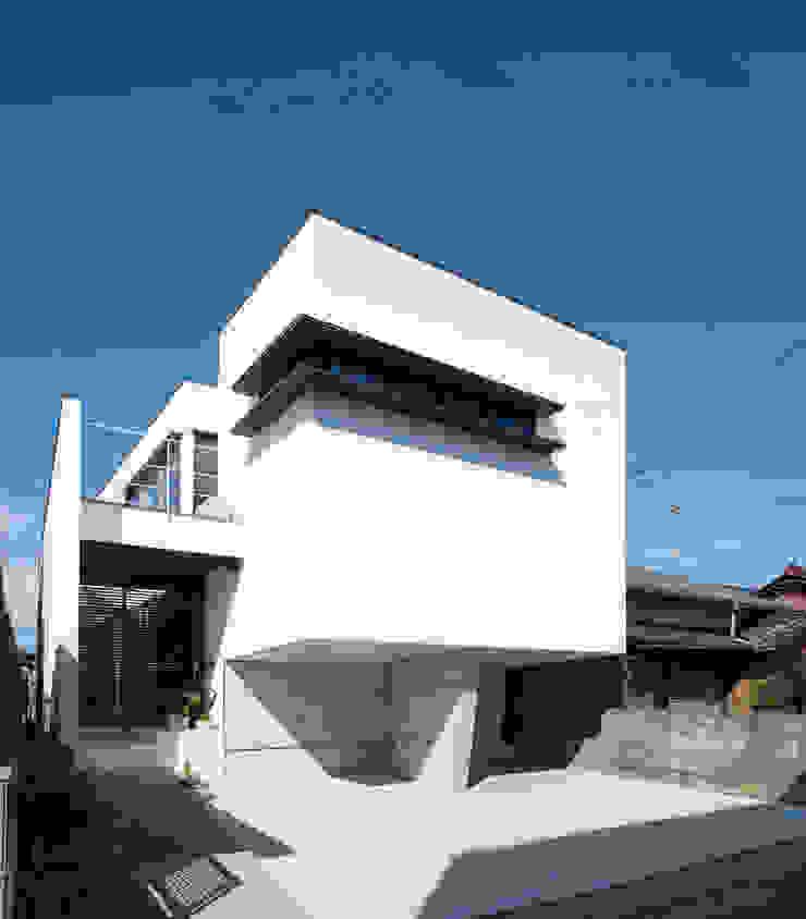 外観2 モダンな 家 の H建築スタジオ モダン