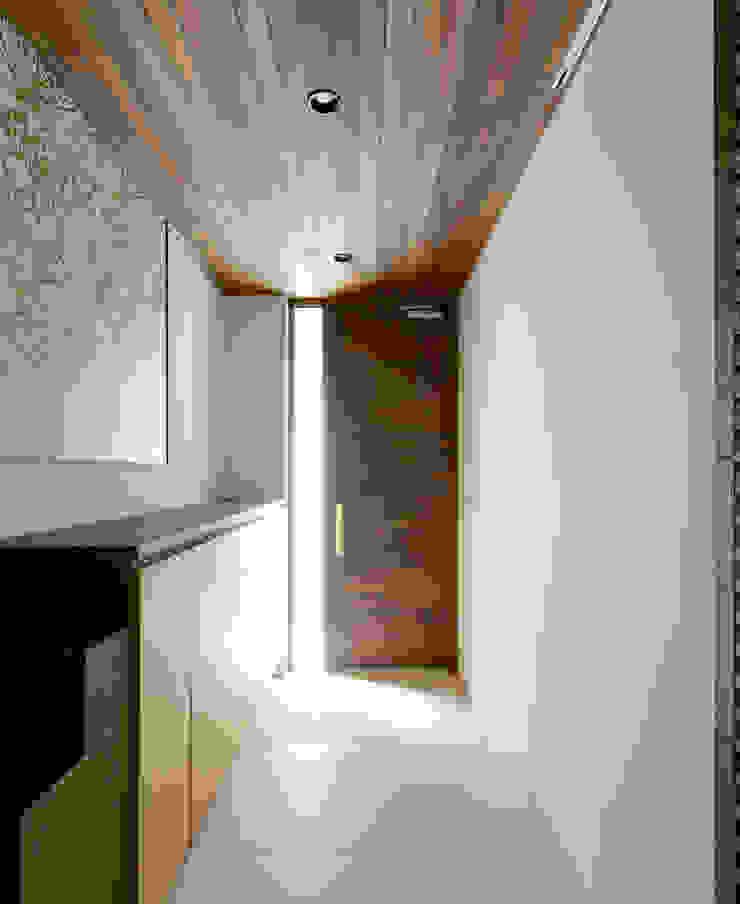 玄関ホール2 モダンスタイルの 玄関&廊下&階段 の H建築スタジオ モダン