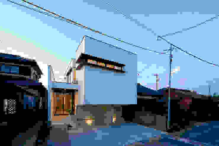 外観3 モダンな 家 の H建築スタジオ モダン