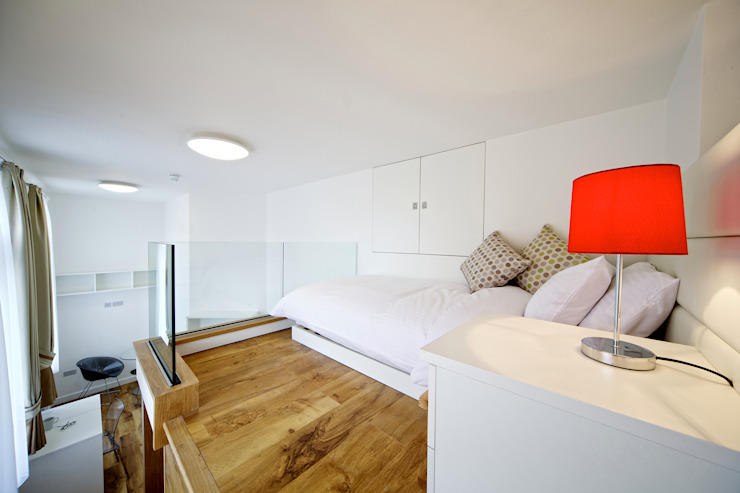 Student Accommodation - SW10:  Bedroom by Ceetoo Architects, Modern