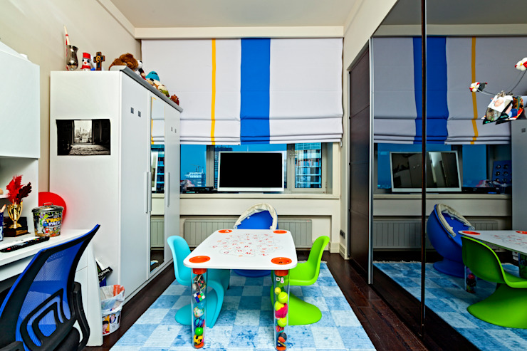 Modern Kid's Room by AKTİF PERDE Modern
