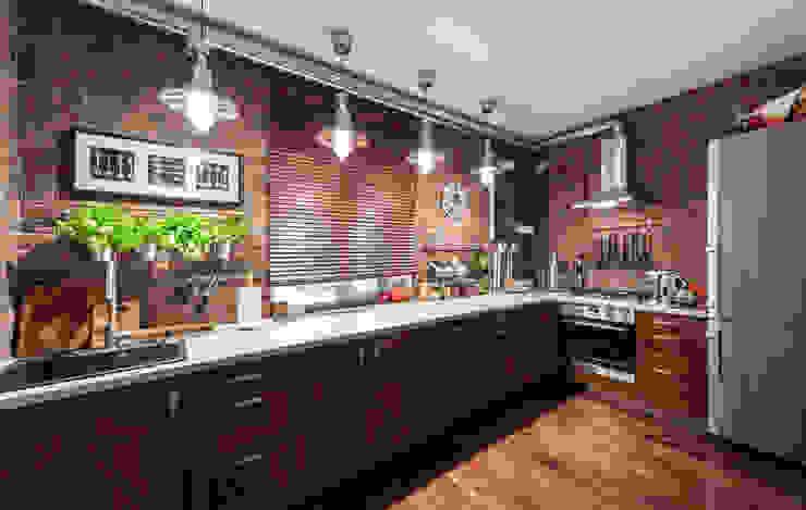 Industrial style kitchen by Ася Бондарева Industrial