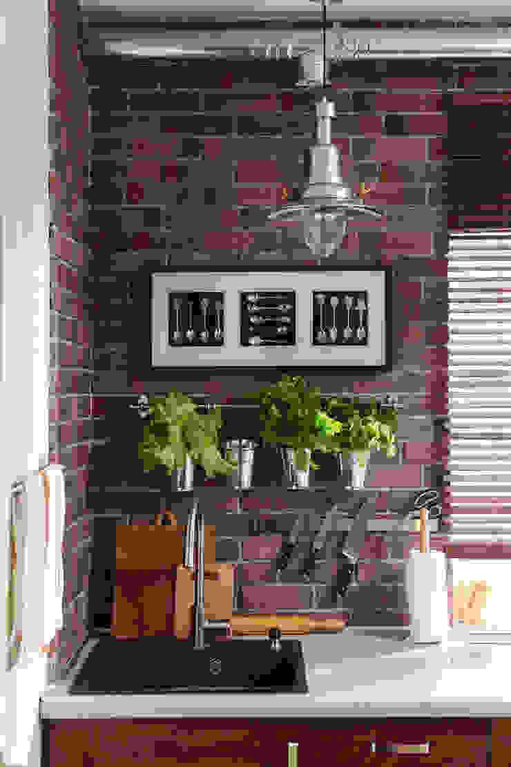 Кухня Кухня в стиле лофт от Ася Бондарева Лофт
