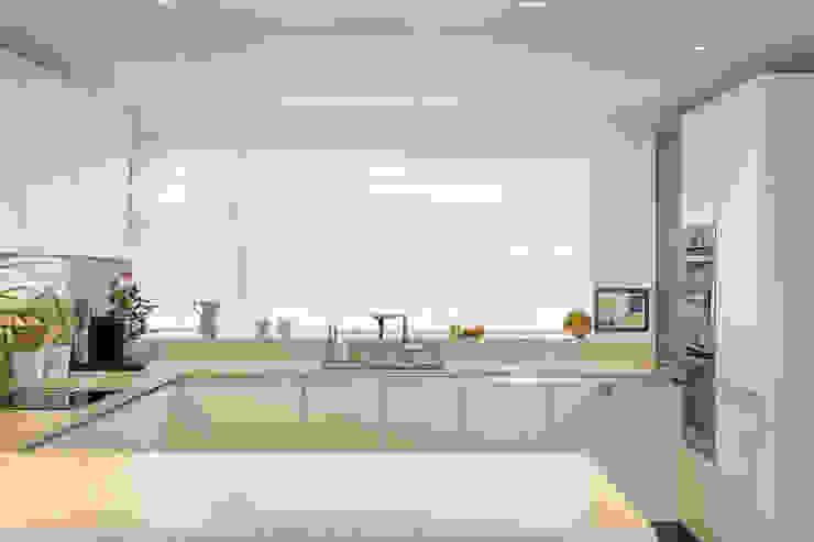 Hawtrey Road, NW3 XUL Architecture Modern kitchen